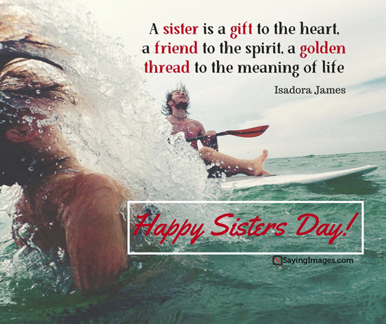 happy sisters day quotes