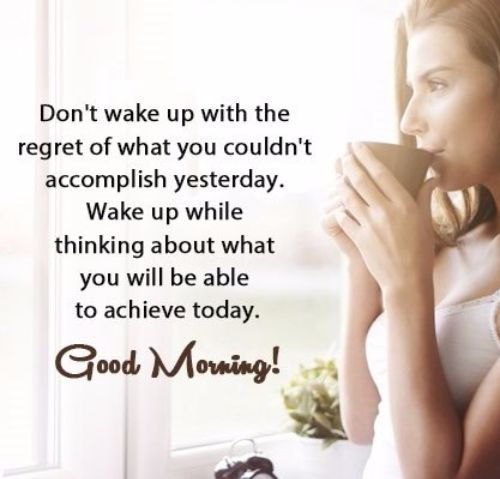 Encouraging Good Morning Quotes