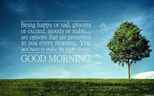 Deep Good Morning Quotes