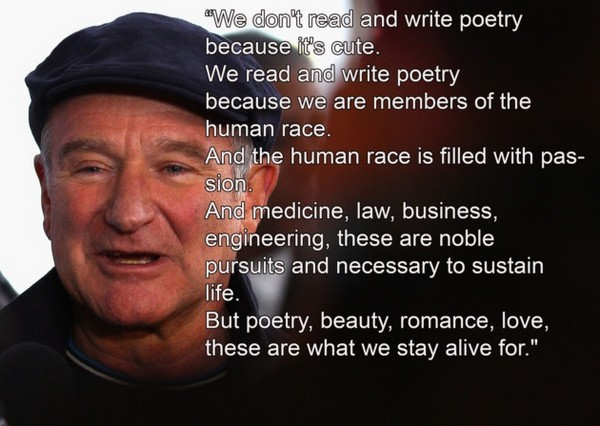 Robin Williams Motivational Quotes