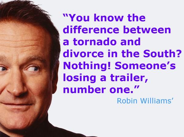 Robin Williams Quote Funny