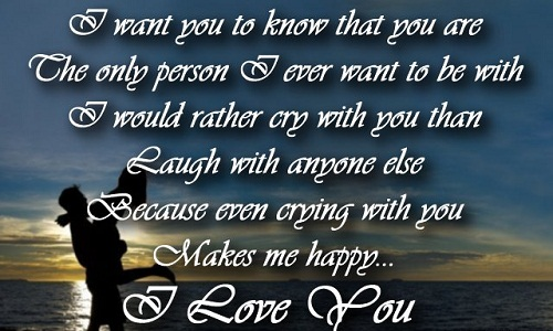 You Make me Happy Love Quotes for Her