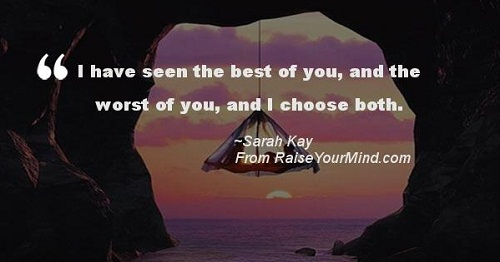I Choose the Best and Worst Love Quotes for Her