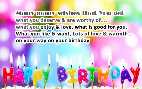 Birthday Wishes Messages For Friend