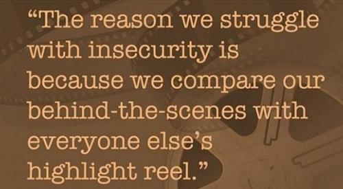Struggle with Insecurity Lovely Quotes