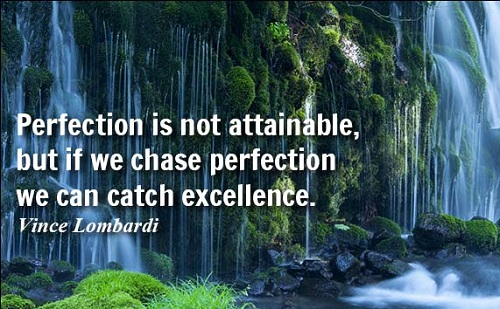 Chase Perfection Lovely Quotes