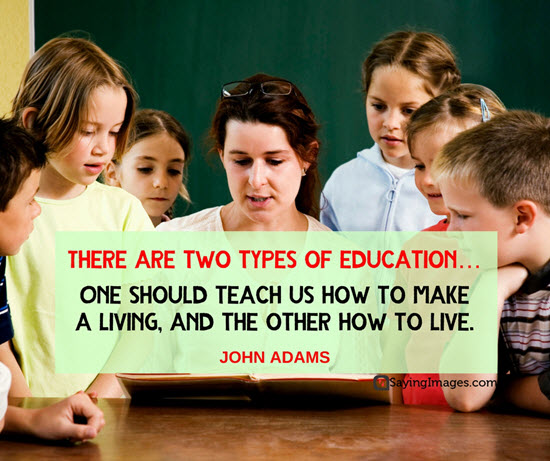 john adams quotes education