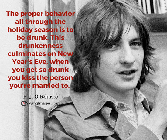 pj rourke new year quotes