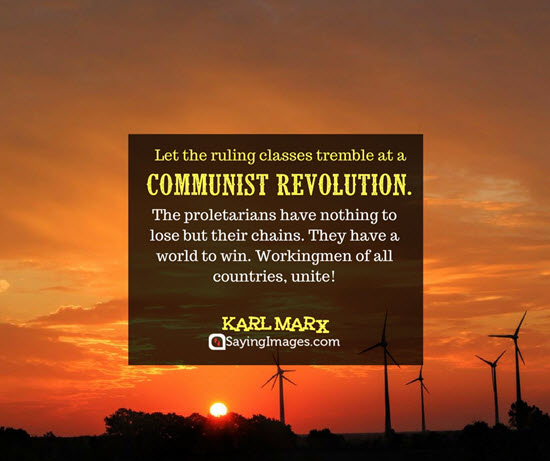 karl marx revolution quotes