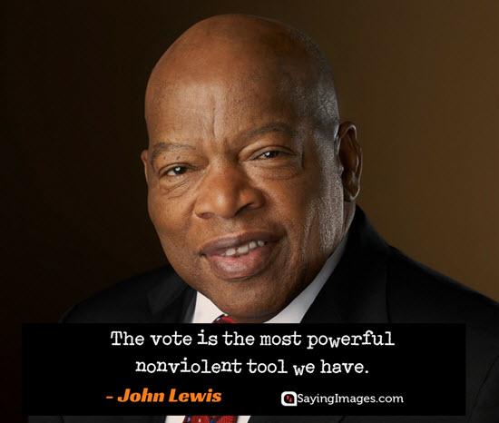 john lewis vote quotes