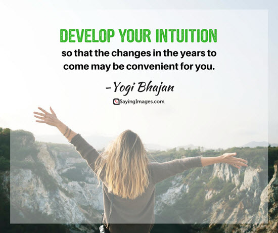 develop your intuition quotes