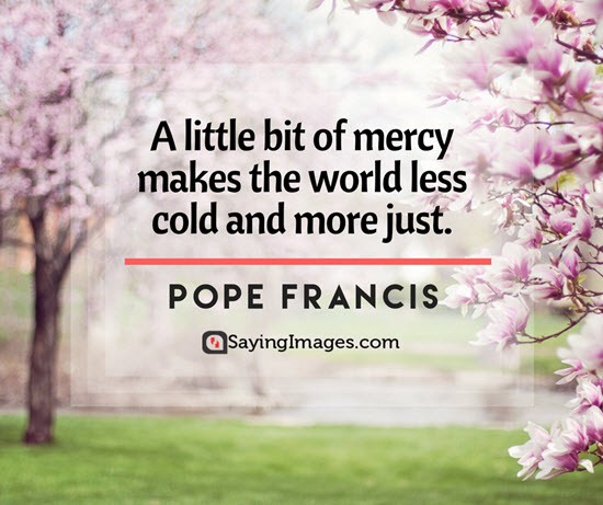 pope francis mercy quotes