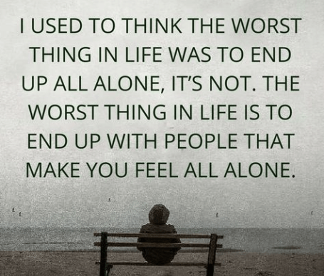 Top 100 Being Alone Quotes And Feeling Lonely Sayings - Word ...