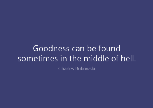 charles bukowski quote and saying
