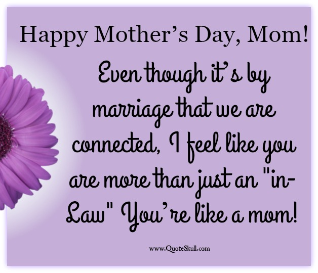 Happy Mothers Day Quotes for Mother in Law - Word Porn