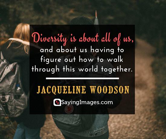 jacqueline woodson diversity quotes