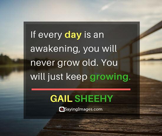 gail sheehy growing quotes