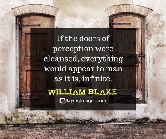 william blake perspective quotes
