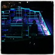 Futuristische lichtjes, cool!