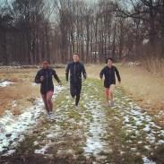 Udjen, Chris en Caroline in actie