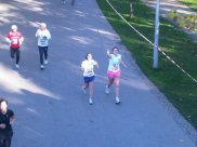 Onze eerste halve marathon samen in 2010