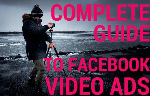 guia completo para publicidade em vídeo no facebook