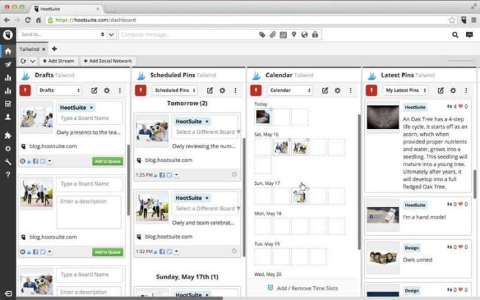 hootsuite free social media tools