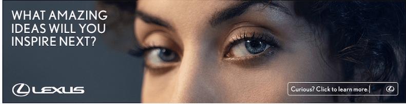 best display ads of 2020-lexus example