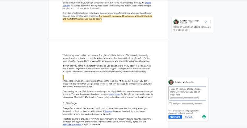best remote collaboration tools for 2021 google docs
