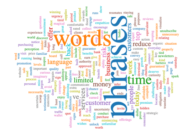 best words and phrases for marketing intro