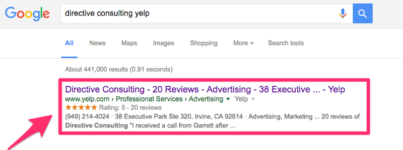 effective local marketing ideas directive consulting yelp