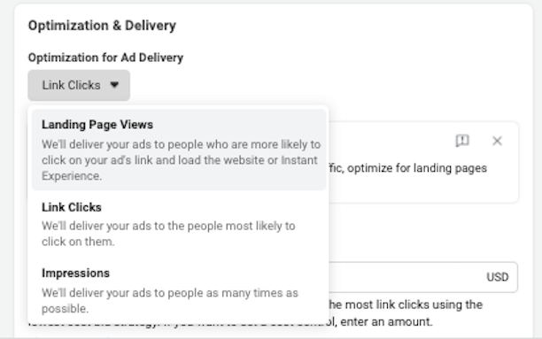 facebook click to call ads Traffic Ad Delivery Optimization
