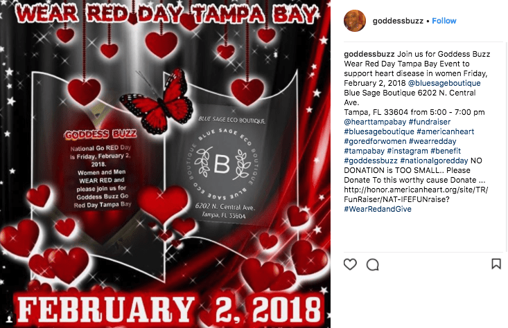 february marketing ideas wear red day 2