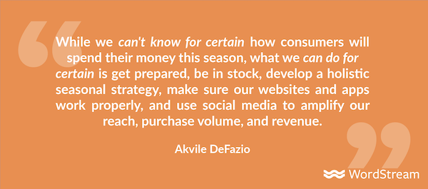 how to use social media for ecommerce holiday advertising akvile quote