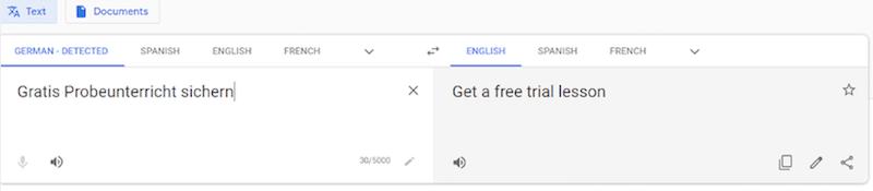 international ppc google translate