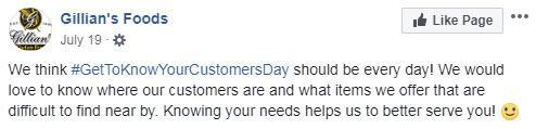 october marketing ideas customer appreciation day