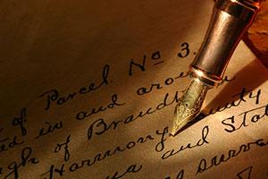 Antique-pen