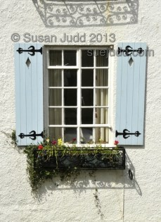 Blue Shutters at Lyme