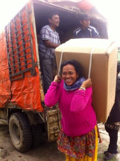 The GWP relief response to the Nepal earthquake.