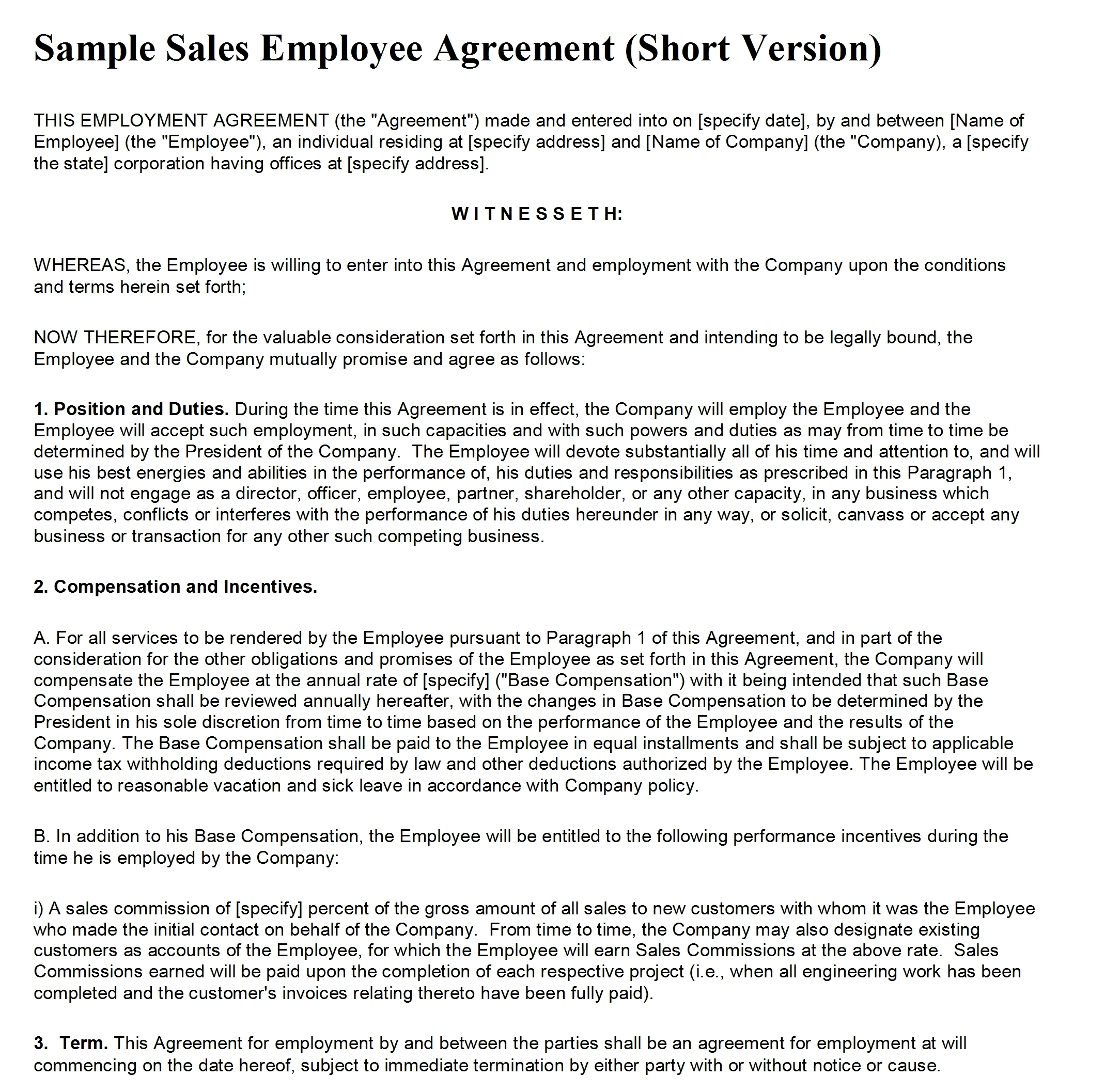 Doc840542 Microsoft Contract Templates Contract Templates – Microsoft Word Contract Template Free