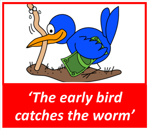 21_the early bird catches the worm