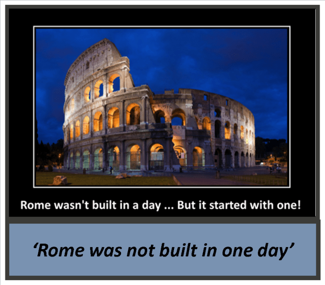 24_rome was not built in one day