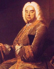 Graphic George Handel