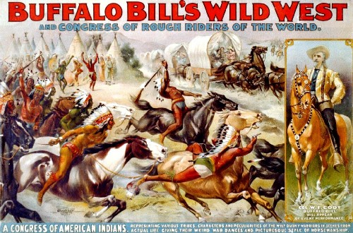 Graphic Buffalo Bill Cody