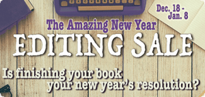 Tia Ross Editorial Amazing New Year Editing Sale