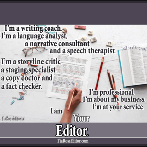 Tia Ross - Your Editor