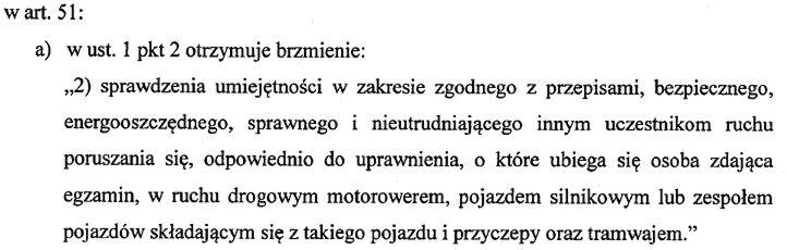 art51-2 zmiana ustawy o kierujących