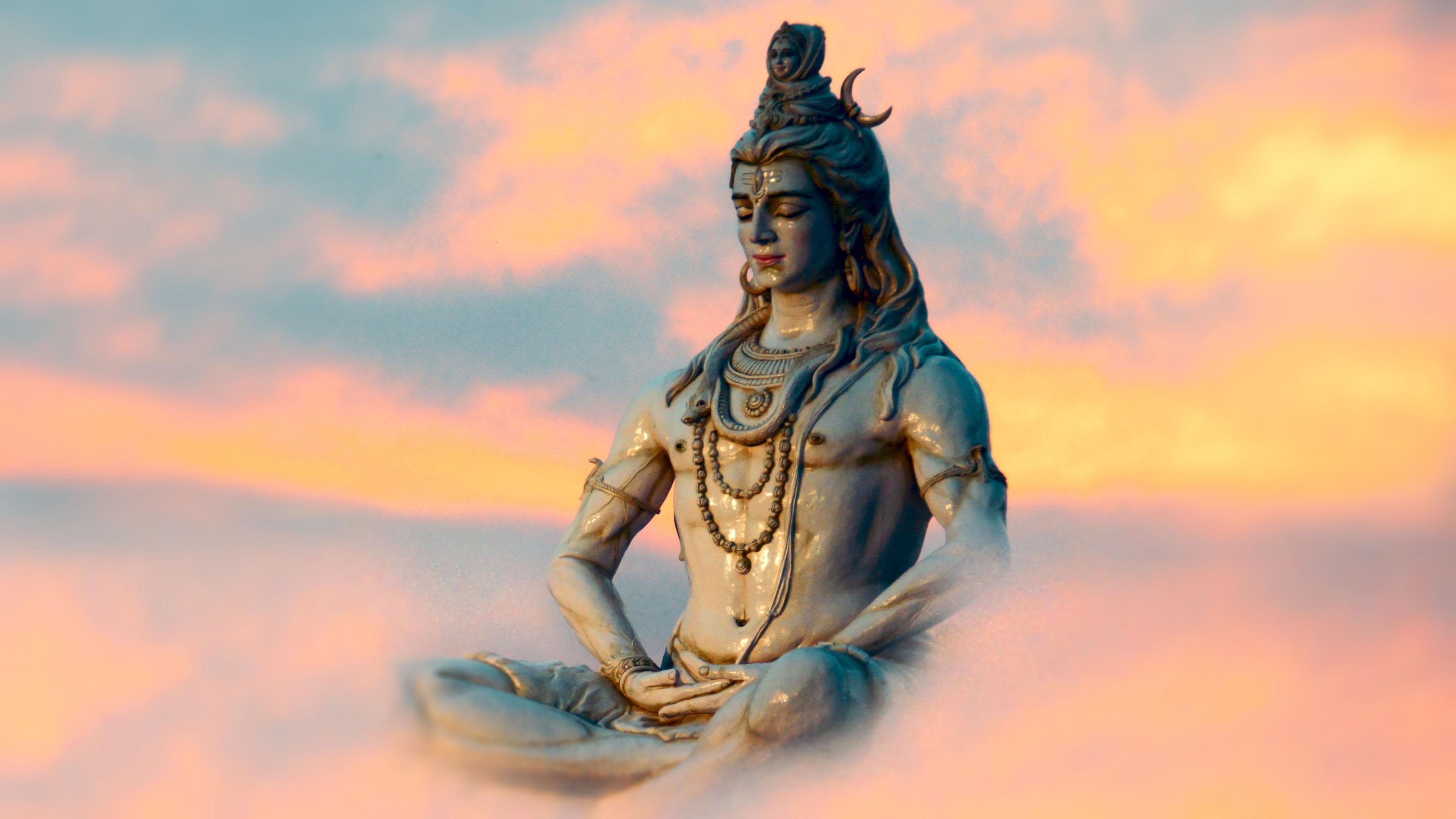 4k Ultra Hd Lord Shiva Pc Wallpaper Novocom Top
