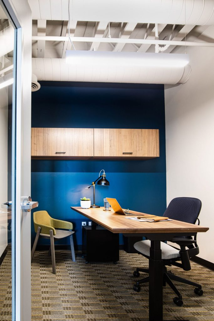 Fully appointed private office space
