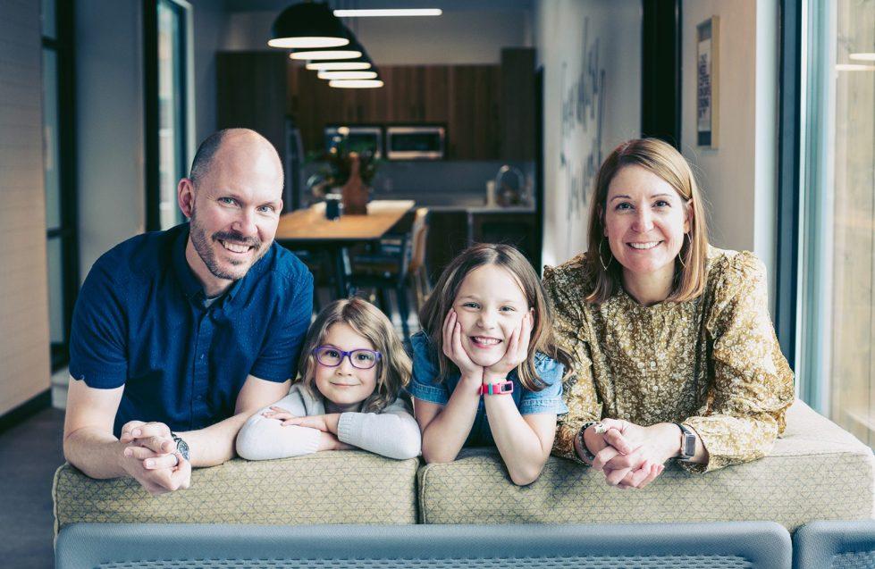 Our story - Kent, Alexa, Ava and Sara